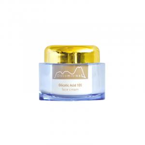 012 - Crema Viso Antiage e Anti Macchie con Acido Glicolico 10% 50ml - Dolomitika