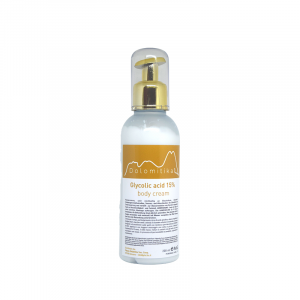 043 - Crema Corpo all'Acido Glicolico al 15% 200ml - Dolomitika